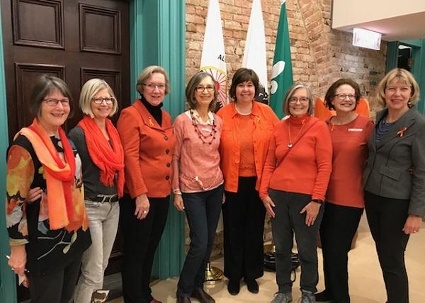 Ottawa GRANs with Councillor Theresa Kavanagh and MP Anita Vandenbeld